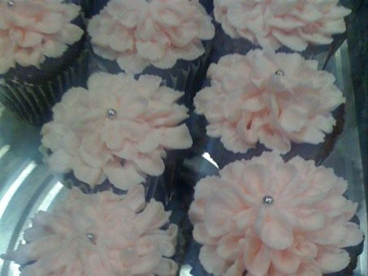 Tmx 1401340699273 Pink Cupcake San Antonio wedding cake
