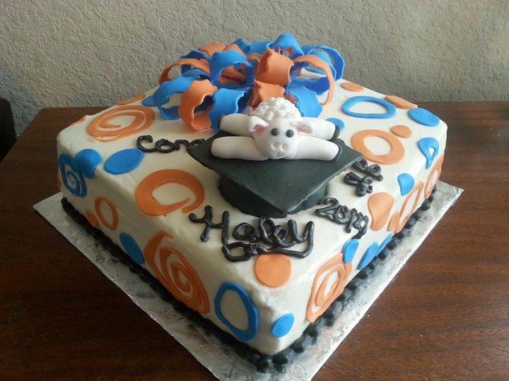 Tmx 1402365690943 Lamb Graduation San Antonio wedding cake