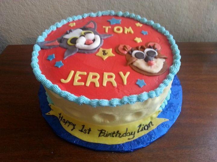 Tmx 1402365717332 Tom N Jerry San Antonio wedding cake