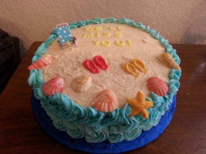 Tmx 1402721070602 Beach San Antonio wedding cake