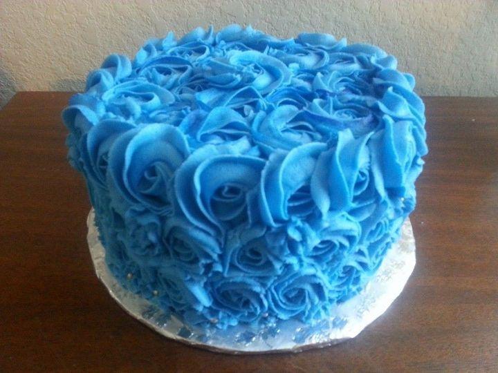Tmx 1402721272155 Blue Rose San Antonio wedding cake