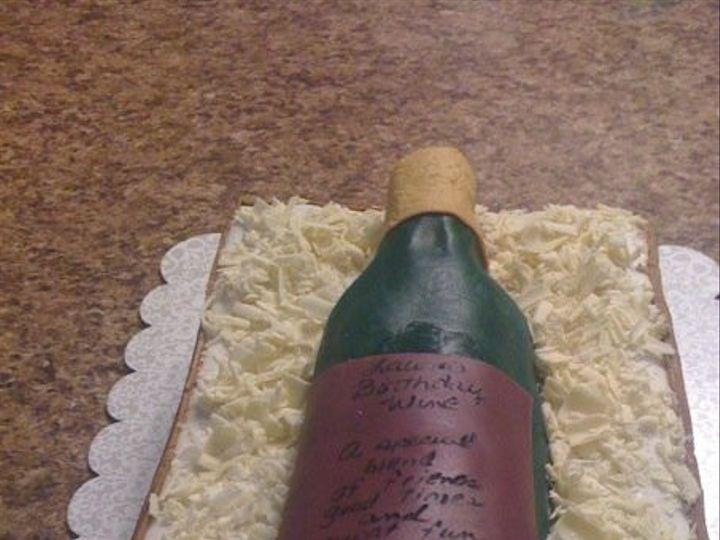 Tmx 1402721477174 Wine Bottle San Antonio wedding cake