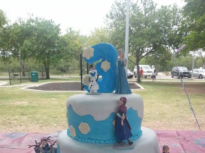Tmx 1403586887284 Frozen San Antonio wedding cake