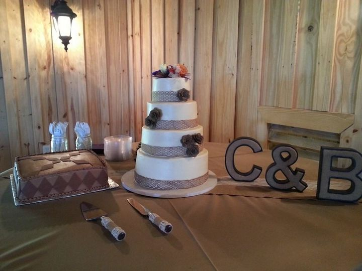 Tmx 1413753248780 Burlap I San Antonio wedding cake