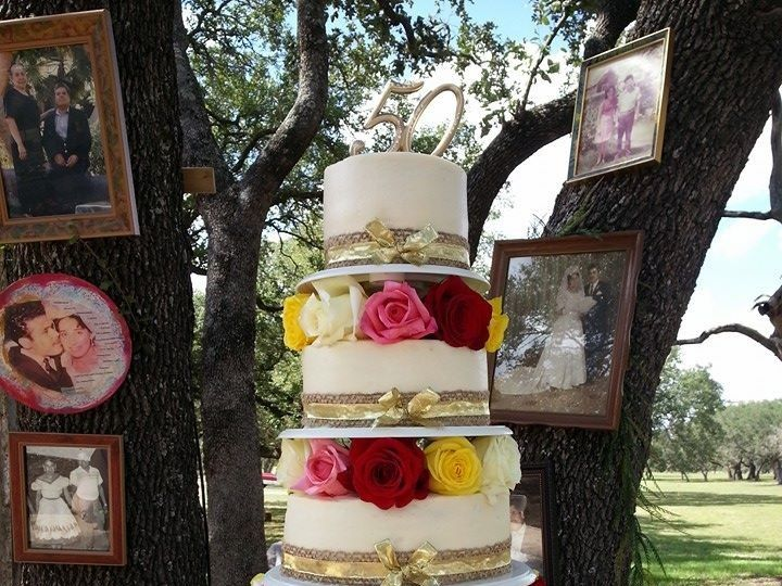 Tmx 1413753265842 Roses San Antonio wedding cake