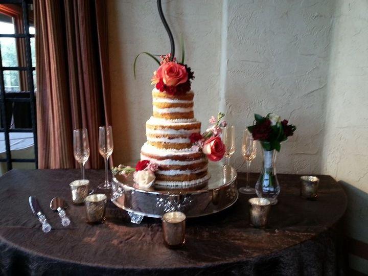 Tmx 1420775814073 Naked Cake San Antonio wedding cake