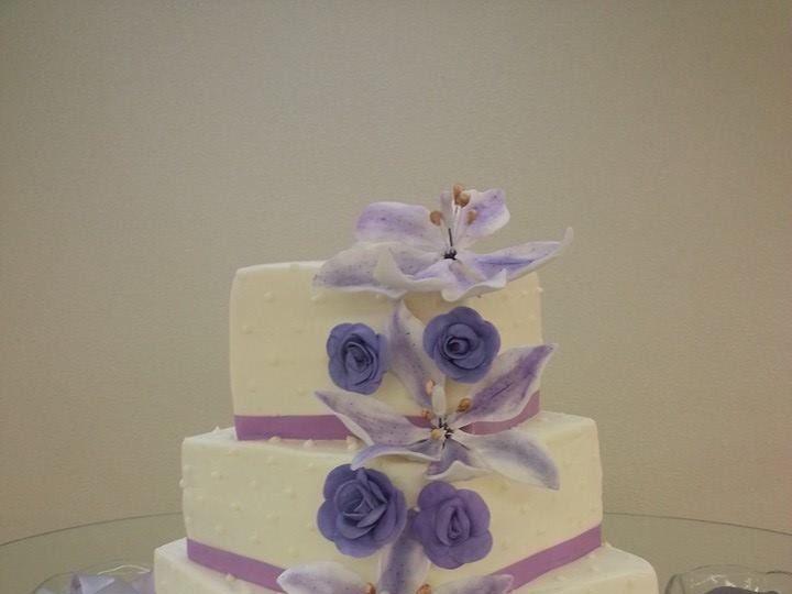 Tmx 1420776326467 Square Lilac San Antonio wedding cake
