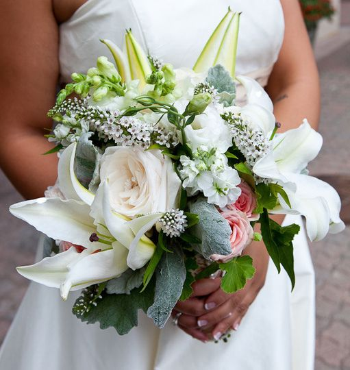 Wedding Wire Flowers: Euphorbia Floral
