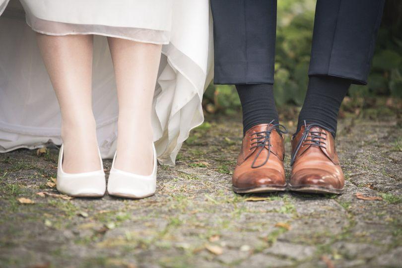 Couple's website shoes