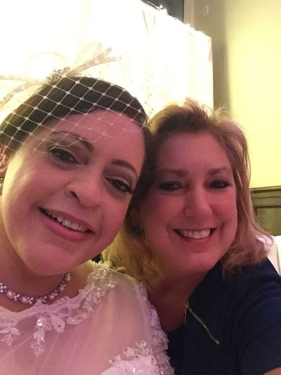 Me and the bride!