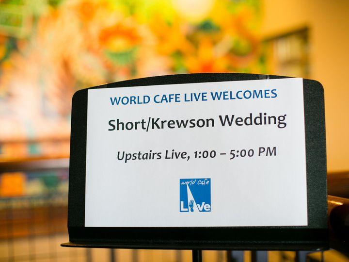 Tmx 1435849335753 World Cafe Live Wedding By Peach Plum Pear Photo02 Philadelphia, Pennsylvania wedding venue