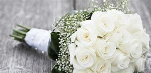 White roses welling