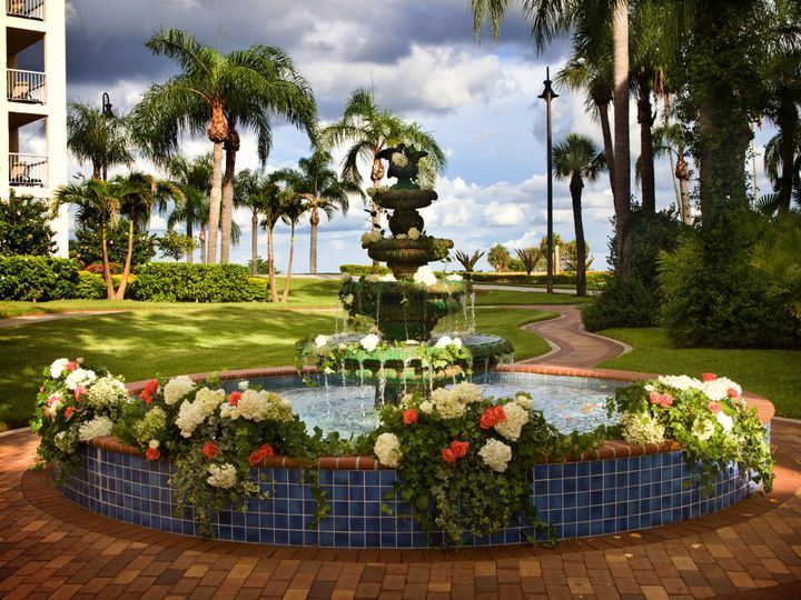 Tmx 1484608213426 Decorated Fountain Safety Harbor, Florida wedding venue