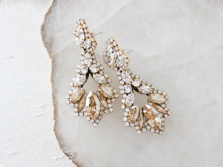 Tmx Antique Gold Chandelier Statement Earrings 2220x1663 51 204409 158446243782928 Allentown, PA wedding jewelry