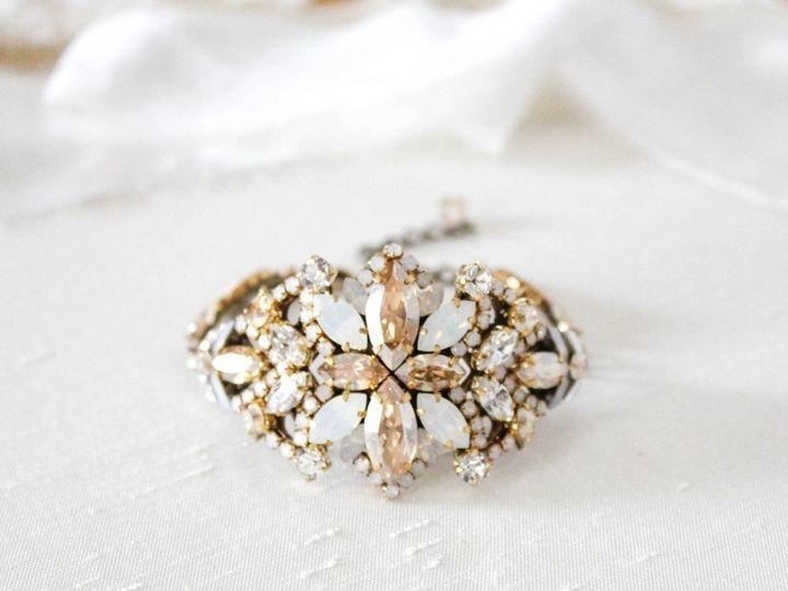Tmx Antique Gold Swarovski Bridal Bracelet 2268x1934 51 204409 158446602844908 Allentown, PA wedding jewelry