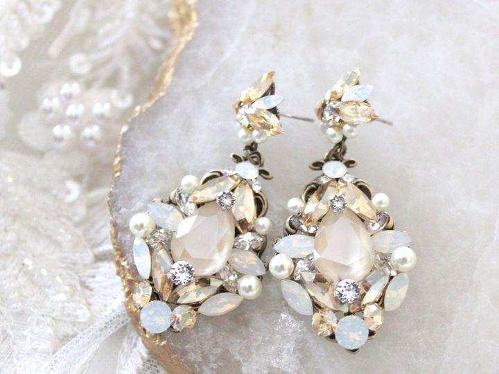 Tmx Antique Gold Swarovski Crystal Bridal Earrings 2bc44b82 Dcd0 4c98 8425 5876b18a25ff 2724x2379 51 204409 158446412859346 Allentown, PA wedding jewelry