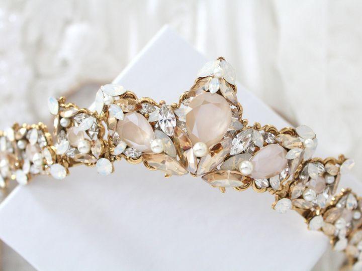 Tmx Antique Gold Wedding Tiara Crown 3000x2000 51 204409 158446847020425 Allentown, PA wedding jewelry