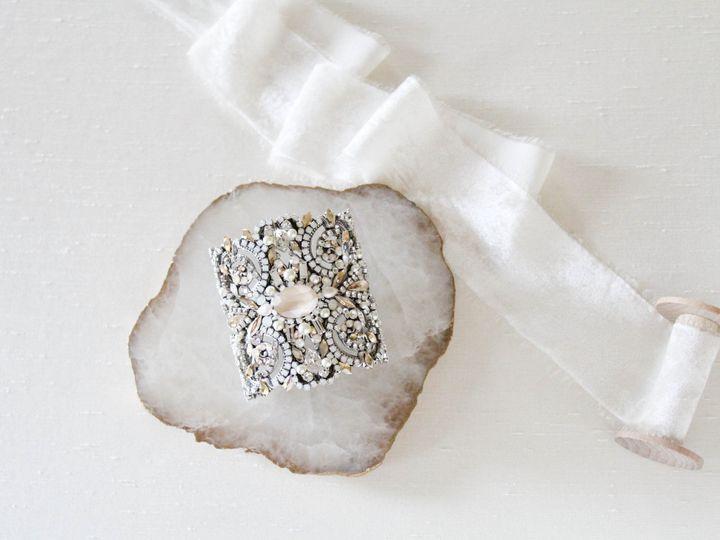Tmx Antique Silver Swarovski Crystal Bridal Bracelet 51 204409 157454961657963 Allentown, PA wedding jewelry