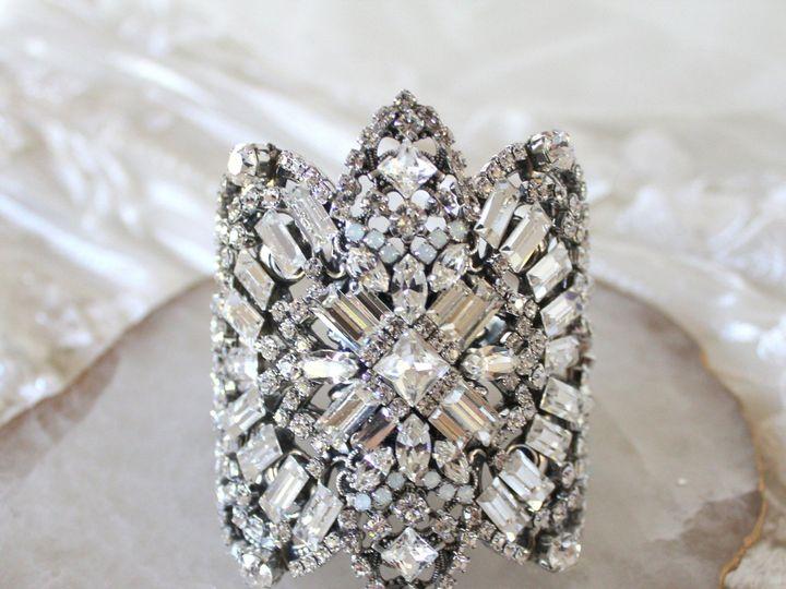 Tmx Art Deco Bridal Statement Bracelet 3000x2833 51 204409 158446560074667 Allentown, PA wedding jewelry