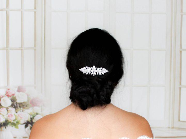 Tmx Cubic Zirconia Bridal Hair Comb 2731x3000 51 204409 158446782096635 Allentown, PA wedding jewelry