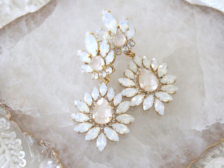 Tmx Gold Chandelier Bridal Earrings 2585x1723 51 204409 158446292182977 Allentown, PA wedding jewelry