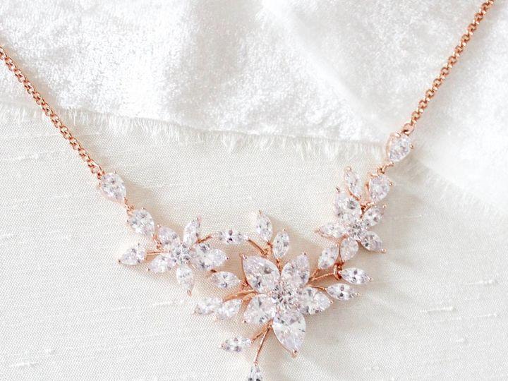 Tmx Roe Gold Cubic Zirconia Necklace 1643x1611 51 204409 158446468698375 Allentown, PA wedding jewelry