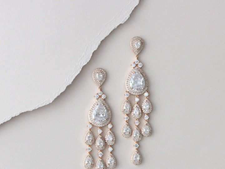 Tmx Rose Gold Crystal Drop Statement Earring 2760x3000 51 204409 158446360070075 Allentown, PA wedding jewelry