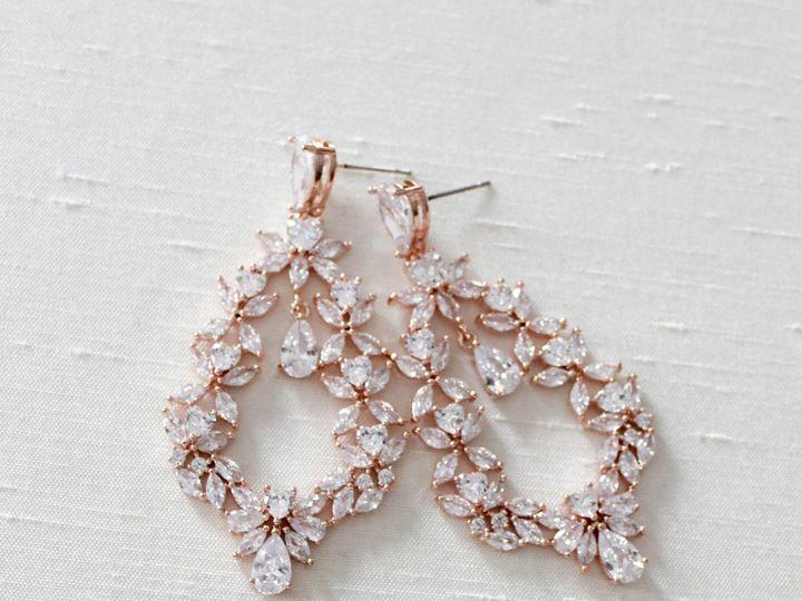 Tmx Rose Gold Hoop Earrings 59b6b123 5fa2 4297 85b9 3f42a0ea25b4 2350x2232 51 204409 158446403774660 Allentown, PA wedding jewelry