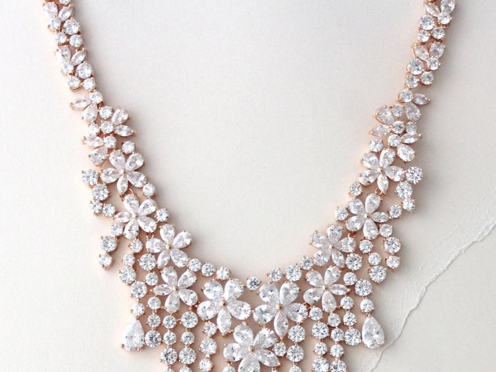 Tmx Rose Gold Statement Bridal Necklace 2213x2811 51 204409 158446523858963 Allentown, PA wedding jewelry