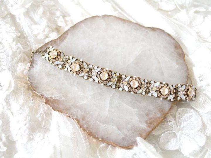 Tmx Swarovski Crystal Ivory Cream And White Opal Vintage Style Bracelet 794x529 51 204409 158446554277355 Allentown, PA wedding jewelry