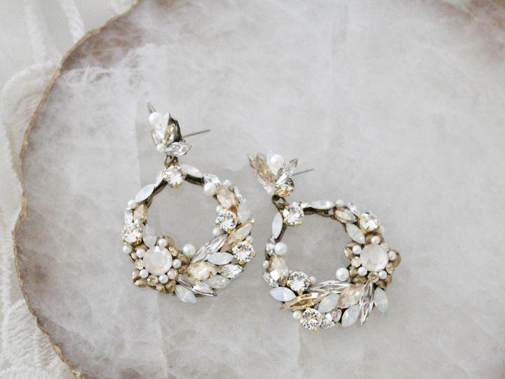 Tmx Swarovski Round Hoop Earrings 51 204409 157454972127805 Allentown, PA wedding jewelry