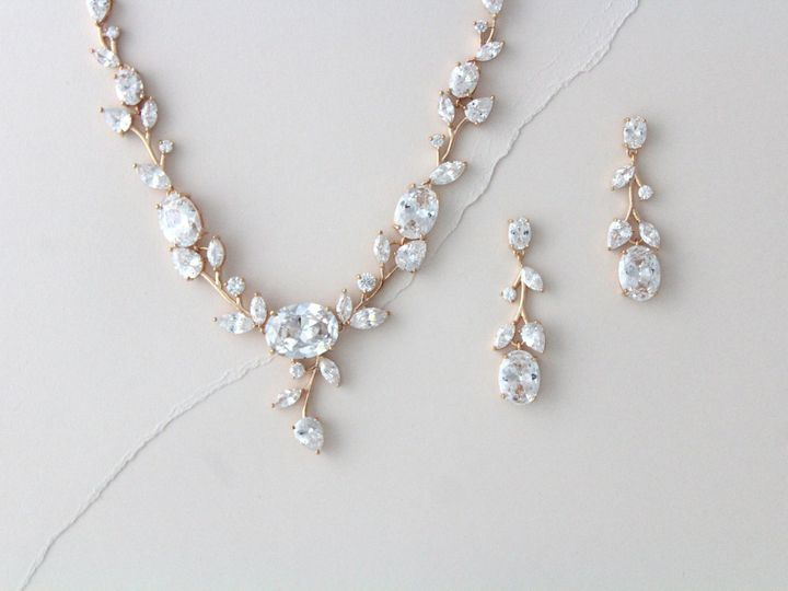 Tmx Vine Inpspired Statement Bridal Jewlery Set 3000x2000 51 204409 158446517328135 Allentown, PA wedding jewelry