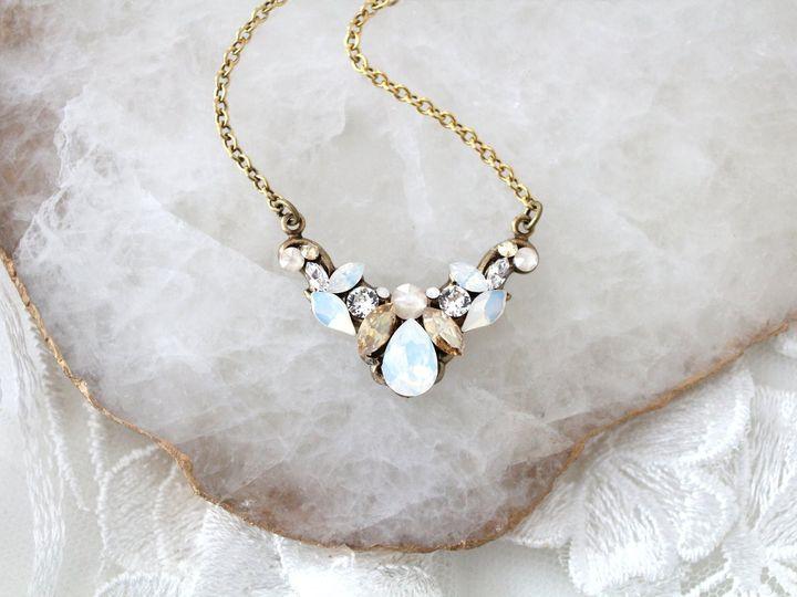 Tmx Vintage Style Swarovski Wedding Necklace 1588x1059 51 204409 158446495271533 Allentown, PA wedding jewelry