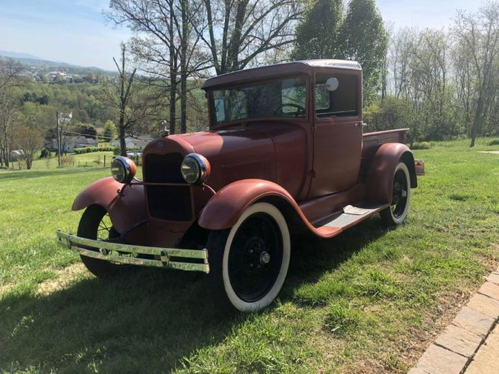 1928 Model T Truck for Photos