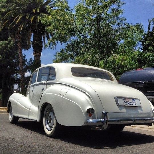 1955 Rolls Royce Classic.
