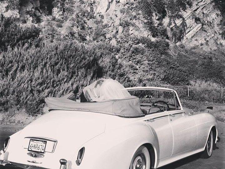 Tmx 1373495628959 Bentley Convertible Wedding Pic North Hollywood wedding transportation