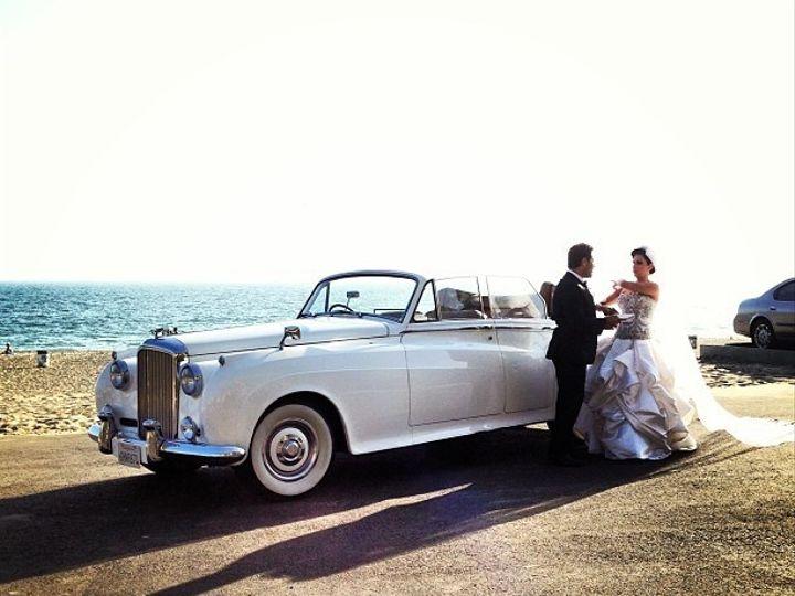 Tmx 1373495636810 Bentley Convertible Wedding Pic 2 North Hollywood wedding transportation