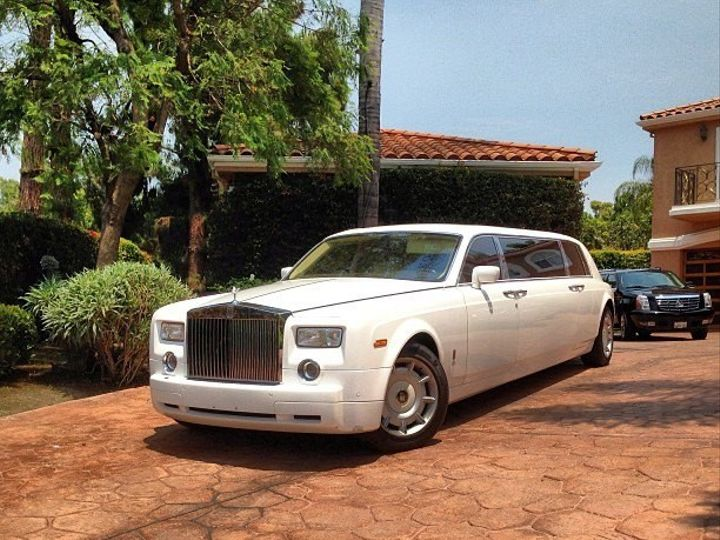Tmx 1373495681949 Rr Phantom Limo Ext North Hollywood wedding transportation