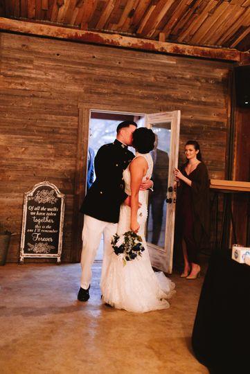 Newlyweds arrival