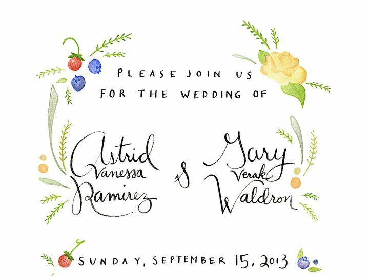 Tmx 1390266377452 Aginvitenobar Poulsbo wedding invitation