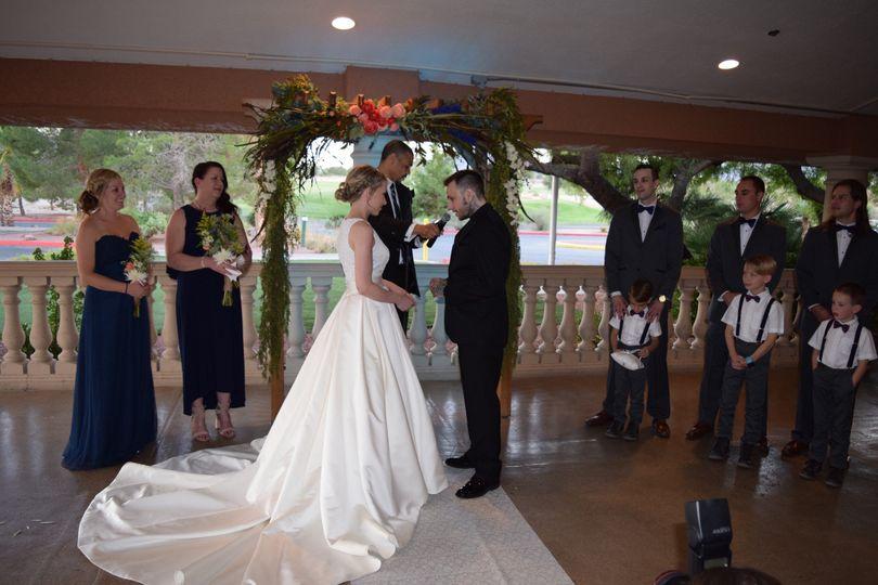 Adam & Sydney Wedding Ceremony October 8, 2016