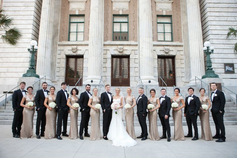 brooke and tj le meredien the vault wedding