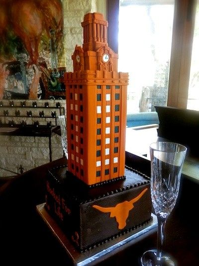 Tmx 1379387563127 Longhorn Tower 1 Austin, Texas wedding cake