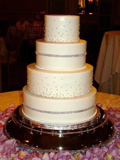 Tmx 1390685200222 Rhinestone Smooth  Austin, Texas wedding cake