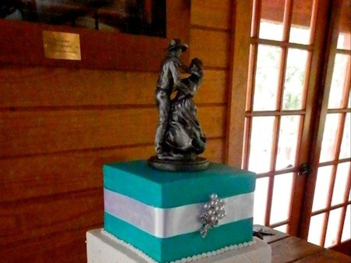 Tmx 1390685222946 Tiffany Blue  Austin, Texas wedding cake