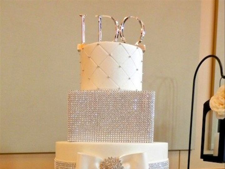 Tmx 1425838479668 Bling Austin, Texas wedding cake