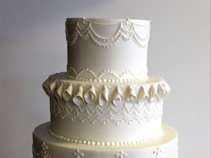 Tmx 1425838482673 Elegant Lace Austin, Texas wedding cake