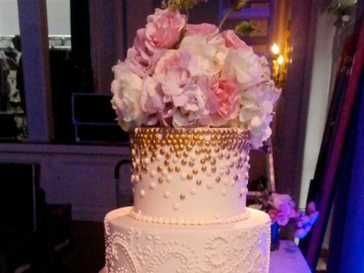 Tmx 1425838484689 Elegant Rose Gold Austin, Texas wedding cake