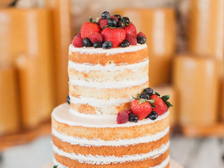 Tmx 1499543294124 Naked Cake Mint Photo Austin, Texas wedding cake