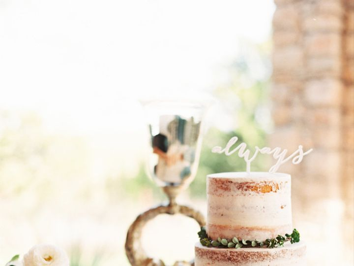 Tmx 1499543300674 Mint Photography Naked Cake Austin, Texas wedding cake
